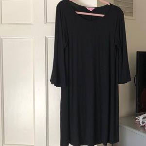 Lilly Pulitzer black dress size large